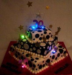 custom 30th birthday cake San Jose « AJ's Moonlight Bakery Blog happy birthdays, bakeries, girl birthday cakes, cupcake birthday, decorating ideas, birthday idea, blog, light, 30th birthday