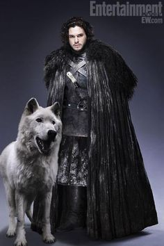 Kit Harington as Jon Snow...only my favorite character from Game of Thrones.