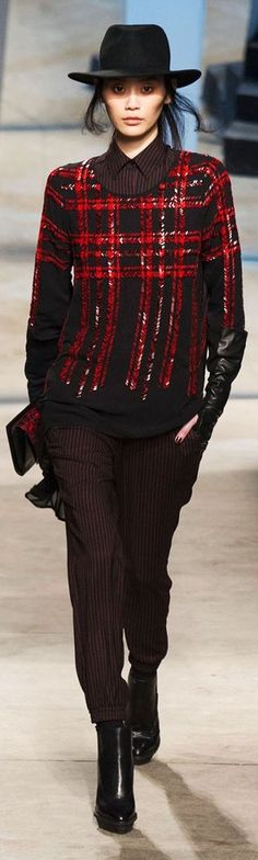 Mad for Plaid - Kenneth Cole Fall 2014