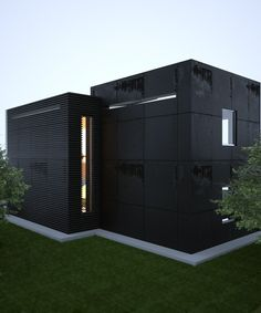 2 cubes - Architecture from the Sergey Makhno – mahno.com.ua