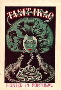 poster for Tanit Ikao, snake charmer.