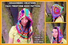 Faux freeform hood pattern