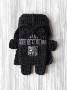 Star Wars - Darth Vader - iPhone 5 case (cozy, sleeve, cover) Crochet PDF Pattern