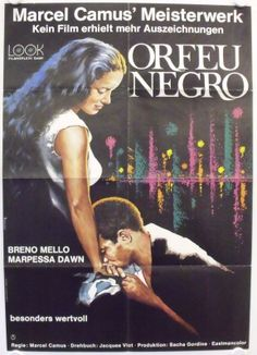 Orfeu Negro - Black Orpheus Re-release Movie Poster (Germany)