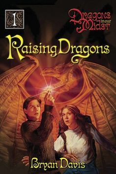 "The first book in my favorite ""Dragons In Our Midst"" series by Bryan Davis."