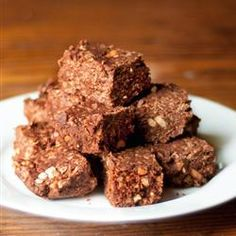 """Chocolate-Hazelnut Spread No-Bakes 