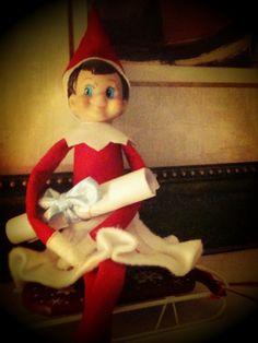 Elf On The Shelf Good Bye Letter Idea
