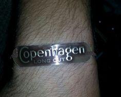 Copenhagen lid bracelet for the guys