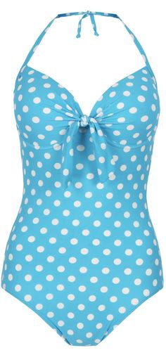 Yes, dots are still hot. Polka Dot Trend for Women: #turquoise - READ ARTICLE BY CLICKING HERE: http://boomerinas.com/2012/04/chic-polka-dot-clothing-for-women-the-new-black-and-white/