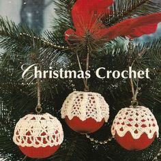 CROCHETED CHRISTMAS ORNAMENT COVER - CROCHET STITCH