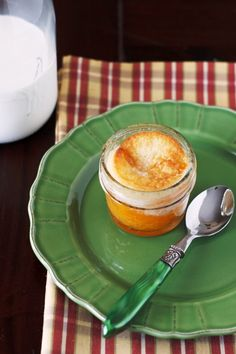 Peach Cobbler in a Jar