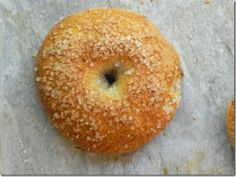 whole wheat sea salt bagel