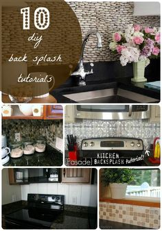 10 DIY Back Splash Ideas