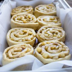 ... tangy caramelized apple cinnamon rolls with cream cheese icing