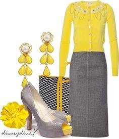"""Lemon"" by disneydiva7 on Polyvore"