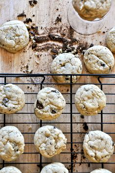 Candied Ginger & Sea Salt Chocolate Chip Cookies