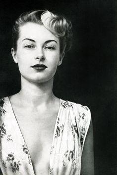 vintagegal:    Jannine, pin-up model 1950's