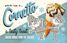 Cornetto Trilogy - Original |  Illustrator: Andrew Kolb