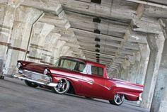 1957 ranchero, ride, 1957 ford, bike, wheel