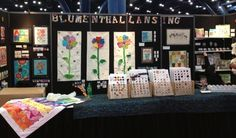 ButtonArtMuseum.com - Quilt Market 2012  Our Booth