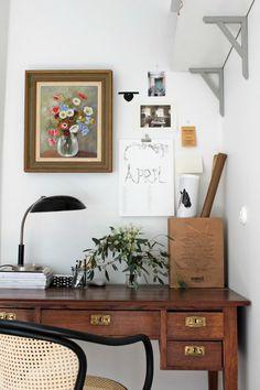 Mitt hemmakontor - blogg för Tant Johanna