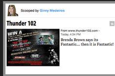 Brenda Brown Loves www.thunder102.com So will you