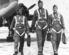 World War II- Tuskegee Airmen Return from Training | Flickr