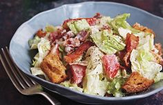 BLT Salad from Man Made Meals: The Essential Cookbook for Guys by Steven Raichlen