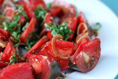 Tomato and Basil Salad   Nom Nom Paleo