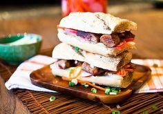 Banh Mi Burgers With Vietnamese Caramel BBQ Sauce Recipes — Dishmaps