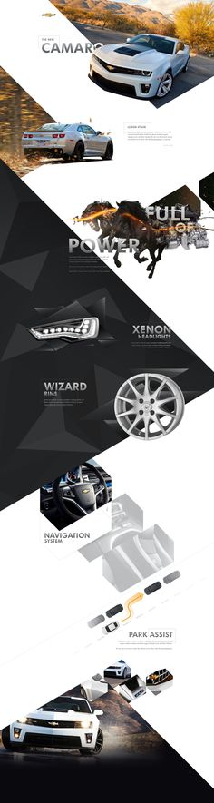 Cool Automotive Web Design on the Internet. Chevrolet. #automotive #webdesign #webdevelopment #website