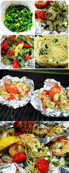 Grilled Shrimp and Lobster Gremolata | Cook Blog