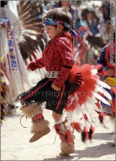 American Indian Dance - Cherokee Boy