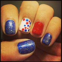valyce's festive tips. Show us your 4th of July-inspired nails! Tag your pic #SephoraNailspotting to be featured on our social sites.