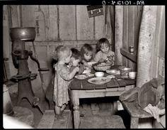 depress, christmas dinners, historical photos, photograph, famili, turnips, children, christma dinner, the great