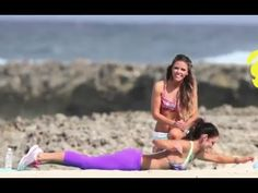 The PLANK!!! Tone up the lower abs and waistline