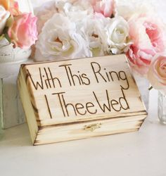 ring bearer box!