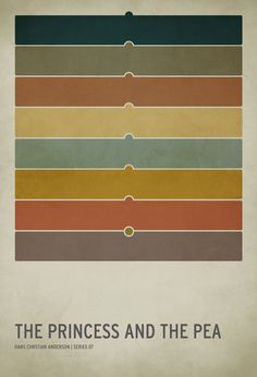Minimalist Fairy Tale Posters by Christian Jackson