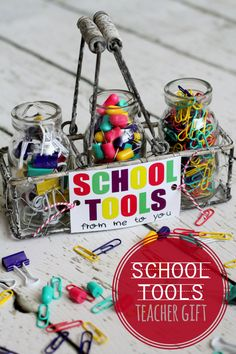 free print, organizing ideas, teacher gifts, school tool, gift ideas, diy gift, tool set, print perfect, ador school