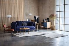 Pared back bohemian Scandinavian simplicity with the Mori Sofa from Habitat