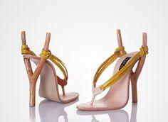 Slingshot heels...how freaking cool