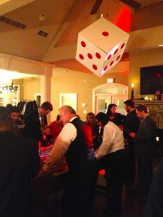Casino Themed Holiday Party from The Party Girl Events