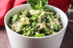 Spring Vegetable Risotto.