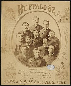 The Bisons were part of the National League for six years, even making third place in 1879. Then they went bankrupt, things went kaplooey and today we have a minor league team of little note. At least they serve beer at the stadium.