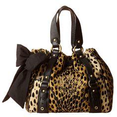 handbag, cheetahs, purs, juici coutur, cheetah print, juicy couture, animal prints, bow, leopard prints