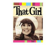 That Girl Cross Stitch Marlo Thomas Cross by NewYorkNeedleworks, $8.50