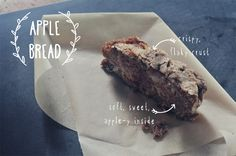 The perfect thing for fall--a simple apple bread recipe. You'll have everything in your pantry and makes two loaves so you can share! via http://mommycoddle.com #applebread #applecake #fallbaking