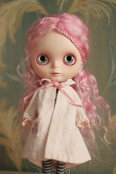 Pink Blythe with coat