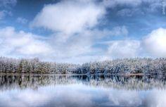"""""""Ledinis ežeras"""". Luokesaičio ežeras, Molėtų rajone  We love Lithuania - Photo by : Gytis Vidžiūnas"""