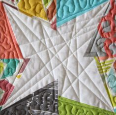 10 tips for finishing modern quilts: quilting designs